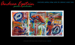 Andrea Epstein painter printmaker