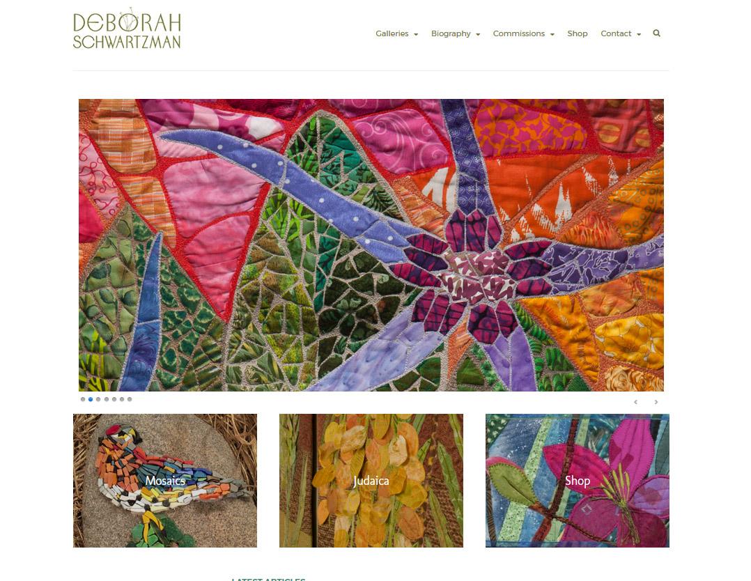 Deb Schwartzman Fiber | Mosaic Artist | muse design group